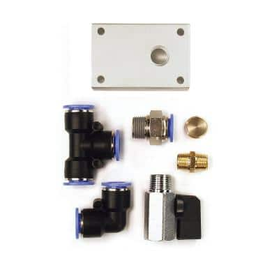 1/2 in. Air Push To Connect Outlet Block Kit (7-Piece)