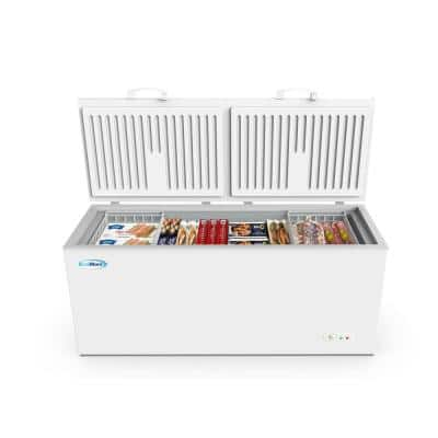 20.4 cu. ft. Manual Defrost Commercial Chest Freezer in White