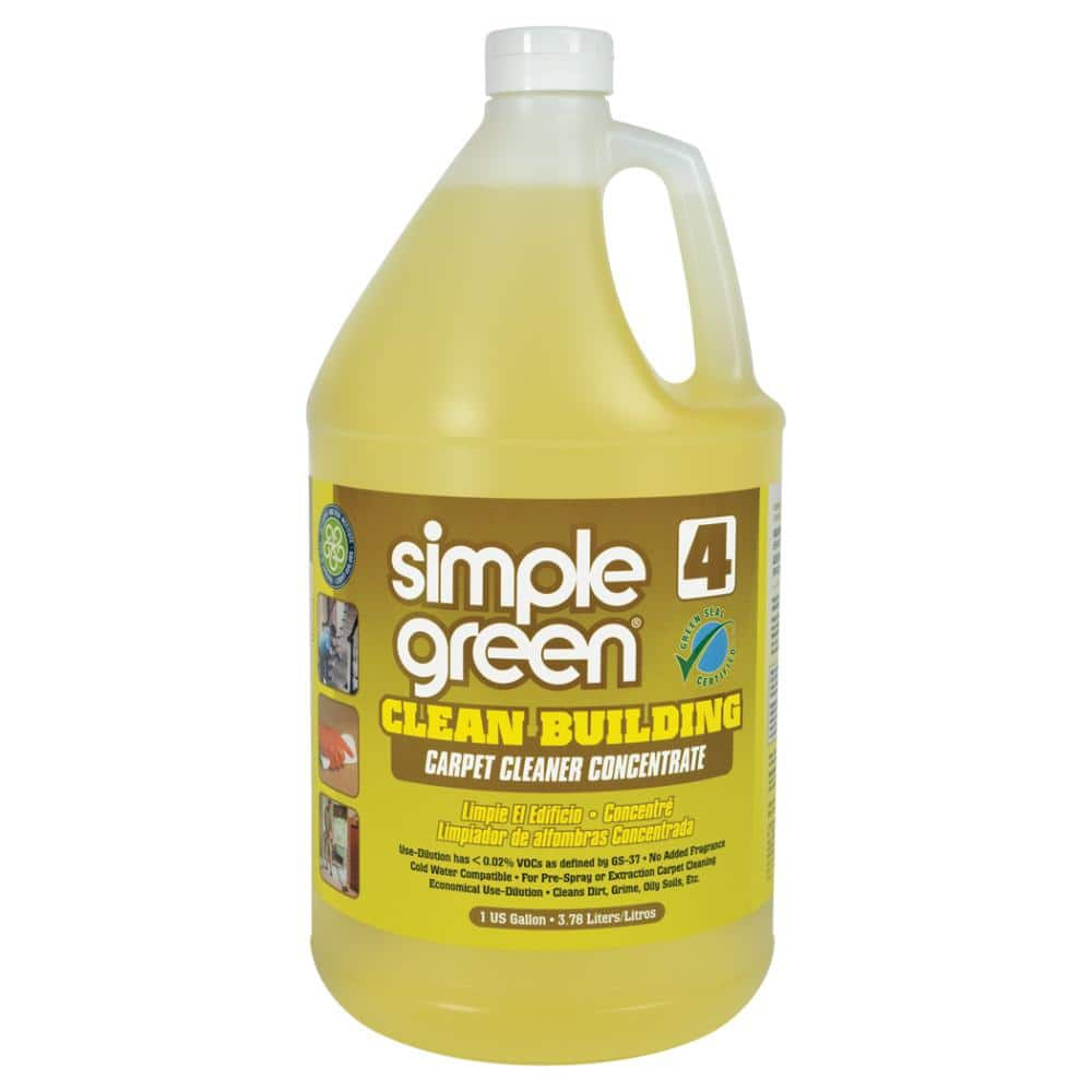 Simple Green 1 Gal Clean Building Carpet Cleaner Concentrate 1200000111201 The Home Depot
