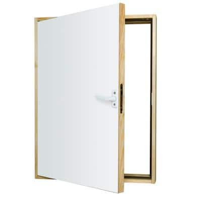 DWT Wall Hatch 21 in. x 31 in. Wooden Thermo Insulated Access Door