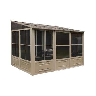 Florence Add-A-Room Solarium 8 ft. x 12 ft. in Sand