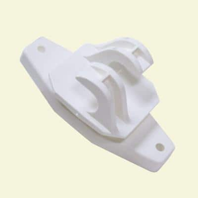 White Wood Post Insulator (25-Bag)