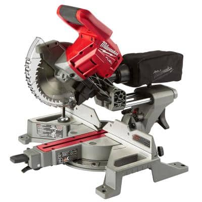 M18 FUEL 18-Volt Lithium-Ion Brushless Cordless 7-1/4 in. Dual Bevel Sliding Compound Miter Saw (Tool-Only)