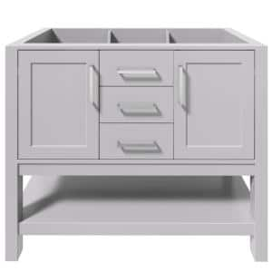 Bayhill 42 in. W Bath Vanity Cabinet Only in Grey