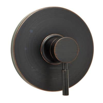 Neo 1-Handle Shower Faucet Trim without Valve in Oil-Rubbed Bronze (Valve Not Included)