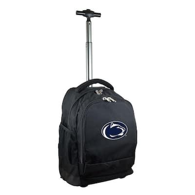 NCAA Penn State 19 in. Black Wheeled Premium Backpack