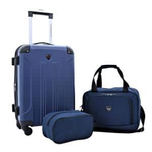 3-Piece Expandable Rolling Carry-on Set (Chicago Plus)