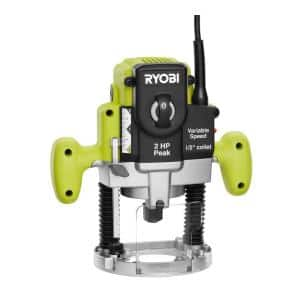 10 Amp 2 HP Plunge Base Router