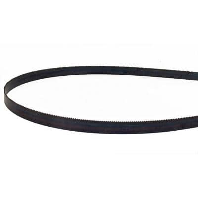 64-1/2 in. L x 1/2 in. with 14-Wavy TPI High Carbon Steel with Hardened Edges and Hard Back Band Saw Blade