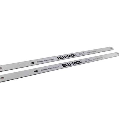 10 in. x 1/2 in. x 0.025 in. 18 Teeth per in. Bi-Metal Hack Saw Blade (10-Pack)