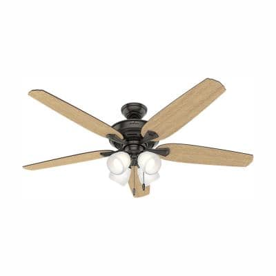 Channing 60 in. LED Indoor Noble Bronze Ceiling Fan