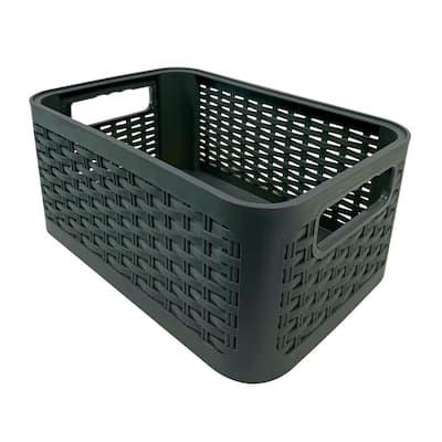 1.8 Gal. MH 7 l Capacity Storage Bin in Gray
