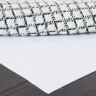 Carpet to Carpet White 9 ft. x 12 ft. Rug Pad