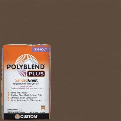 Polyblend Plus #646 Coffee Bean 25 lb. Sanded Grout