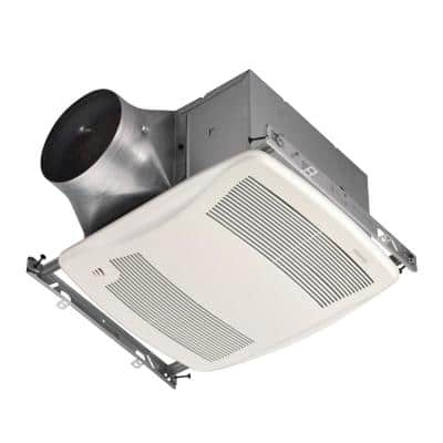 ULTRA GREEN ZB Series 110 CFM Multi-Speed Ceiling Bathroom Exhaust Fan with Humidity Sensing, ENERGY STAR*