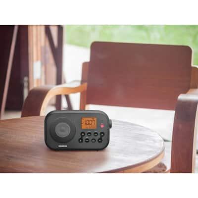 AM/FM/NOAA Weather Alert Digital Tuning Portable Radio