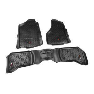 2013 GGBAILEY D50380-F2A-BLK/_BR Custom Fit Car Mats for 2012 2014 2015 Lincoln MKX Black with Red Edging Driver /& Passenger Floor