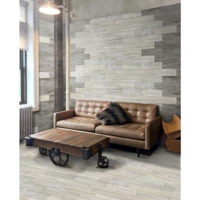 Norvegia 7 in. x 24.5 in. Porcelain Floor and Wall Tile (14.74 sq. ft. / case)