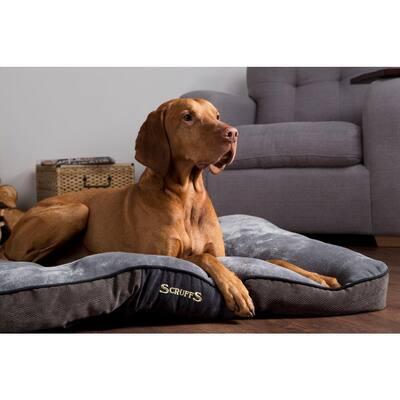 Chester Large Graphite Grey Polyester Dog Mattress