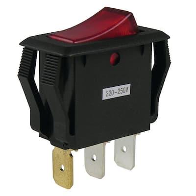 16 Amp Single-Pole Rocker Switch