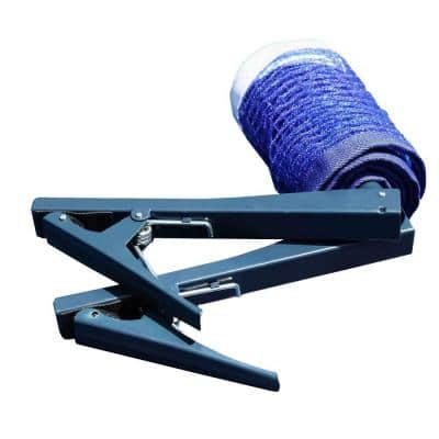 Deluxe Table Tennis EZ Clamp Clip-On Posts and Net Set