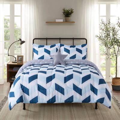 Carson Patchwork 4-Piece Comforter Set