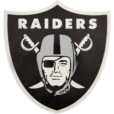 NFL Oakland Raiders Outdoor Logo Graphic- Small