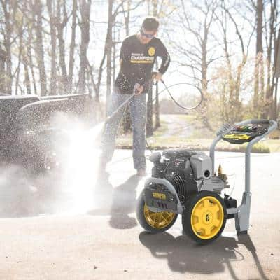 3000 PSI 2.3 GPM Cold Water Gas Pressure Washer with Honda Engine