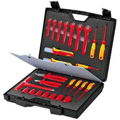 1,000-Volt Insulated Standard Tool Kit (26-Piece)