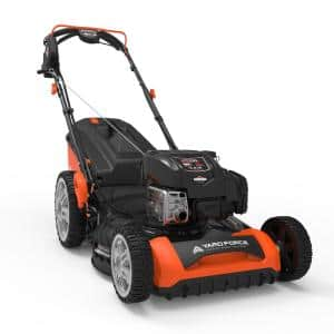 21 in. 163cc Briggs and Stratton Variable-Speed RWD Electric Start Walk Behind Mower