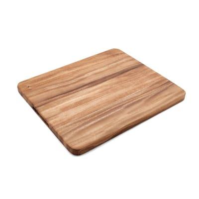 14 in. x 16 in. Rectangle Acacia Wood Edge Grain Cutting Board