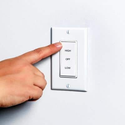 2 Speed Wholehouse Fan Control Switch