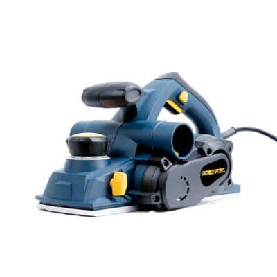 Portable Corded Hand Planer 8 Amp Power Motor with 4-3/8 in. Hand Planer Blades Electric Woodworking Tool