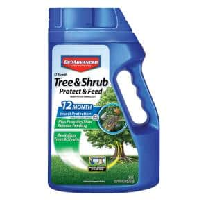 4 lbs. Ready-to-Use Tree and Shrub Protect and Feed Granules