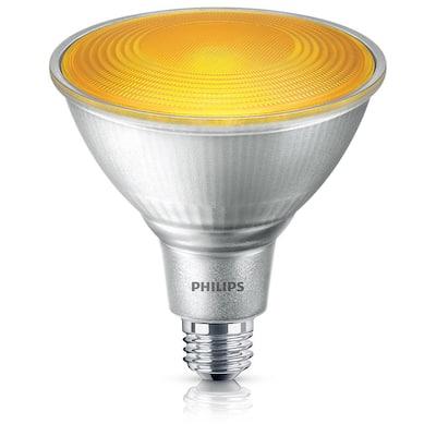 90-Watt Equivalent PAR38 LED Flood Yellow