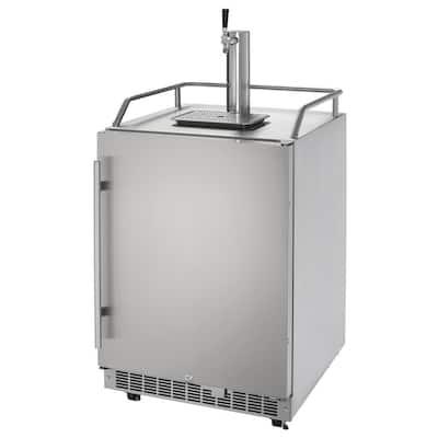 Outdoor Full Size Beer Keg Dispenser with SingleTap