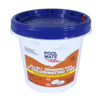15 lb. Pool All-in-1 3 in. Chlorinating Tablets