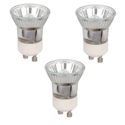 35-watt Halogen MR11 Clear Lens GU10 Base Narrow Flood Light Bulb (3-Pack)