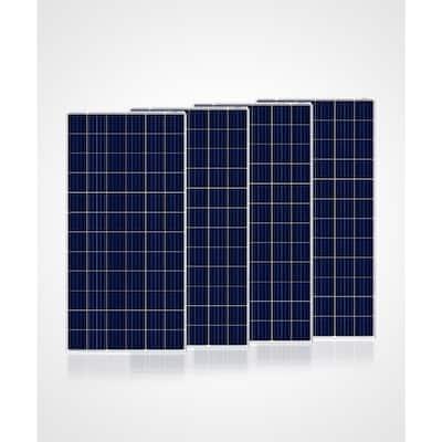 300-Watt Polycrystalline Solar Panel (4-Pack 1200-Watt)