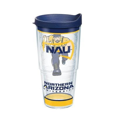 Cl Northern Az Univ Trad 24 oz. Double Walled Insulated Tumbler with Travel Lid