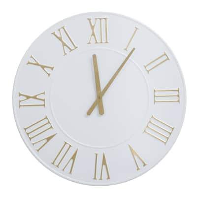 DEcorative White Moderm Wall Clock