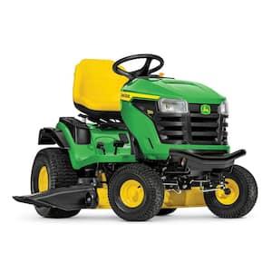 S160 48 in. 24 HP V-Twin ELS Gas Hydrostatic Lawn Tractor- California Compliant