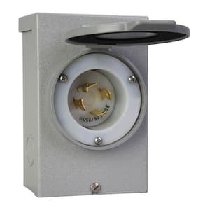 30 Amp Power Inlet Box
