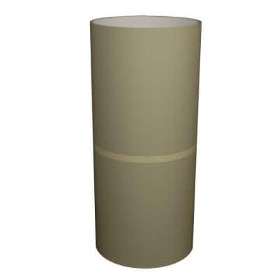 24 in. x 50 ft. Green Tea and White Aluminum Trim Coil