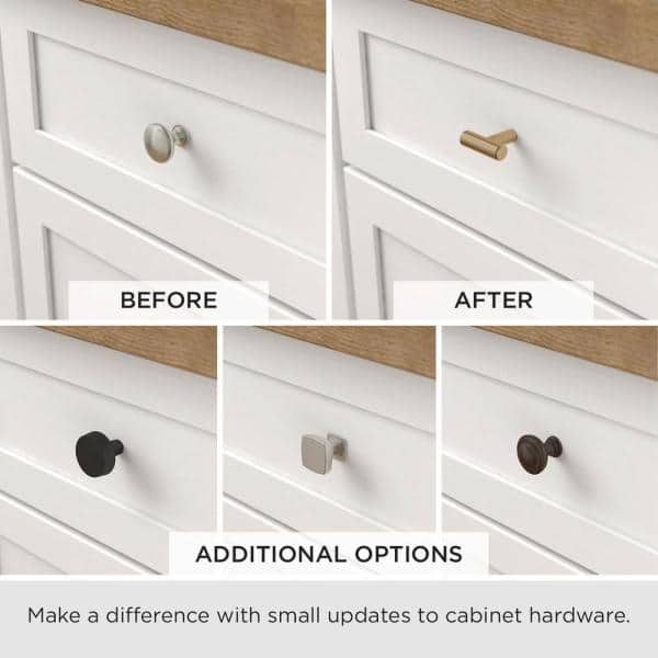 Brushed Brass Cabinet Knob P24080c 117, Brass Cabinet Pulls And Knobs