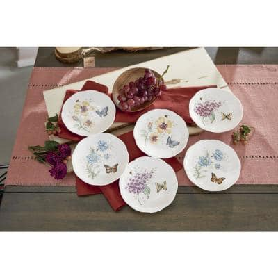 Butterfly Meadow Multi Color Party Plates (Set 6)