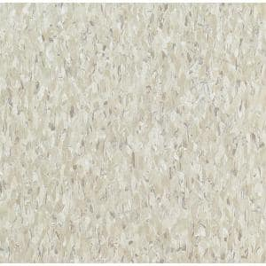 Imperial Texture VCT 12 in. x 12 in. x 3/32 in. Shelter White Standard Excelon Vinyl Tile (45 sq. ft. / case)