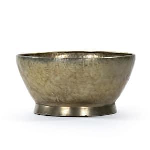 Antique Gold Edgard Bowl