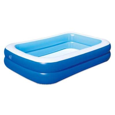 103 in. x 69 in. Rectangle 22 in. Deep Inflatable Pool with Cover