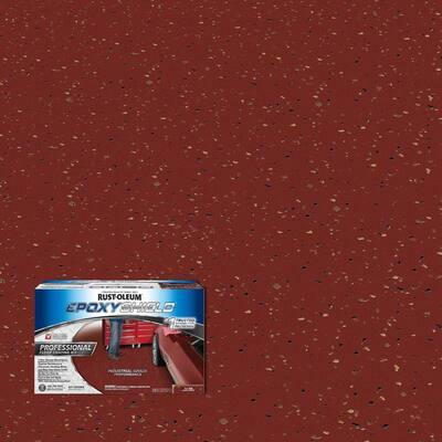 2 Gal. Tile Red Semi-Gloss Professional Floor Coating Kit (2-Pack)